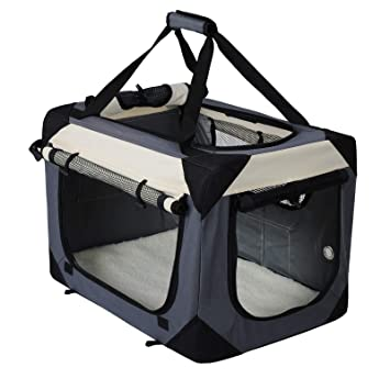 EUGAD Transportin para Perros Plegable Bolsa de Transporte Gatos ...