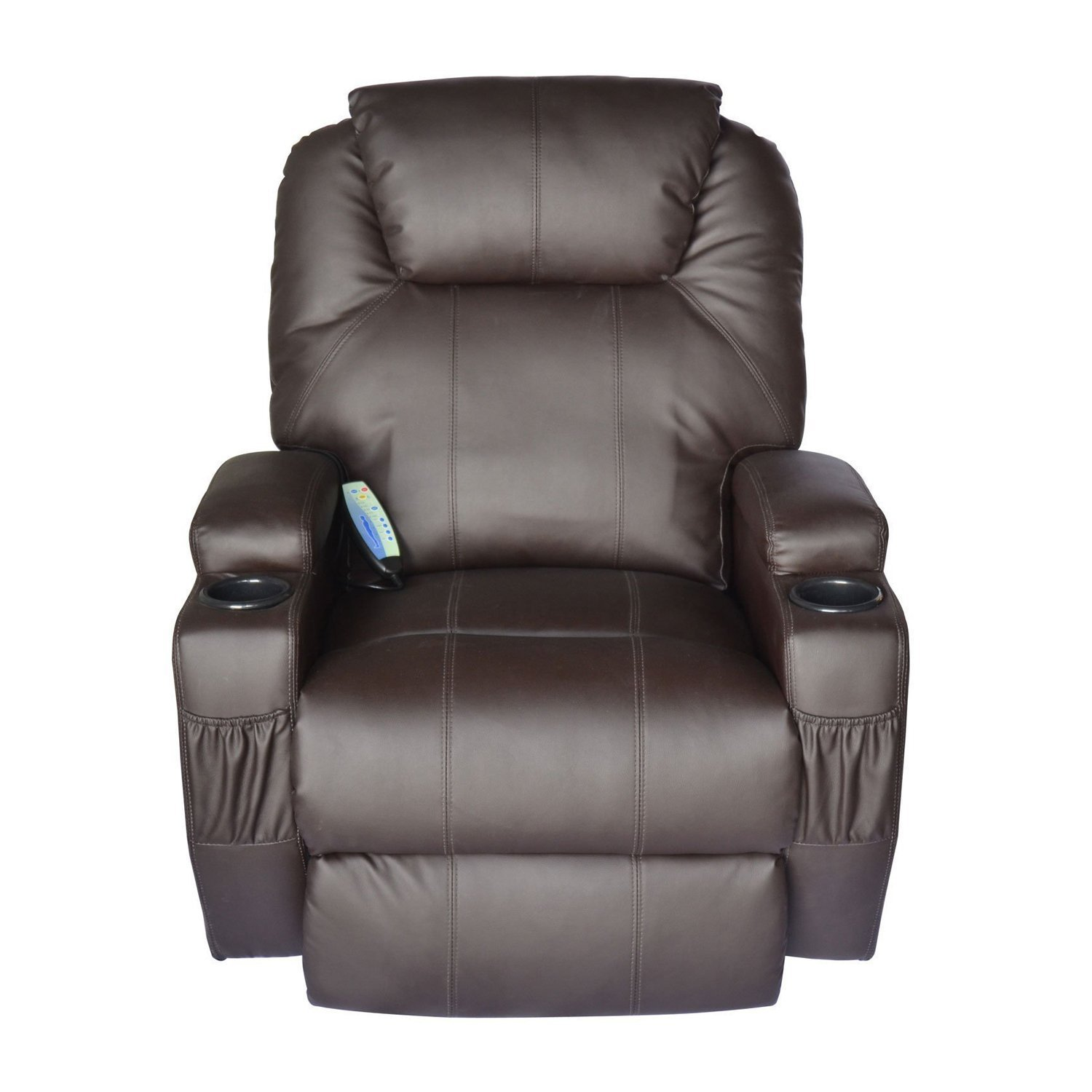 Amazon Tenive Deluxe Pu Leather 360 Degree Swivel Rocker