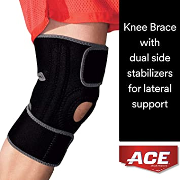 f2142404e0 ACE Brand Knee Brace with Dual Side Stabilizers, America's Most Trusted  Brand of Braces and