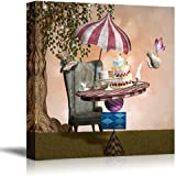 """Wall26 - Canvas Prints Wall Art - Wonderland Series - Mad Hatter Banquet 