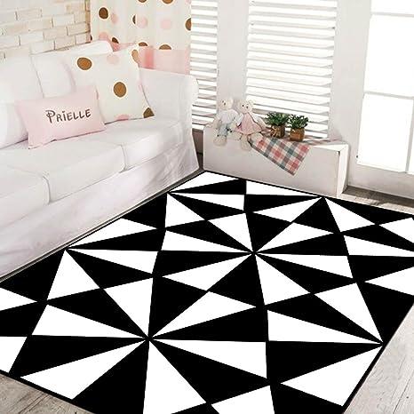 MM&&-Bianco e Nero Geometrico Tappeti, tappeti rettangolari per ...