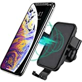 CHOETECH Wireless Car Charger Mount, Aromatherapy Fast Wireless Charger Car Air Vent Phone Holder 7.5W Compatible with iPhone XS/XS Max/XR/X/8/8 Plus, 10W for S10/Note 9/S9/Note 8/S8/S7 and More