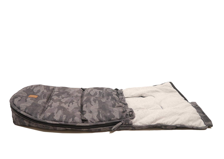 mehrfarbig camouflage Kaiser 6538541 Babyschalenfu/ßsack Hoody