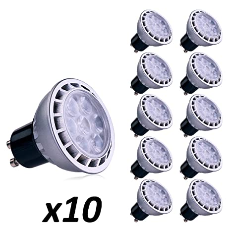 e2b3a43d6b2 Lampaous 7W GU10 LED Light Bulbs, Warm White 3000K,Daylight White 4000K  ,Cool White 6000K, ...