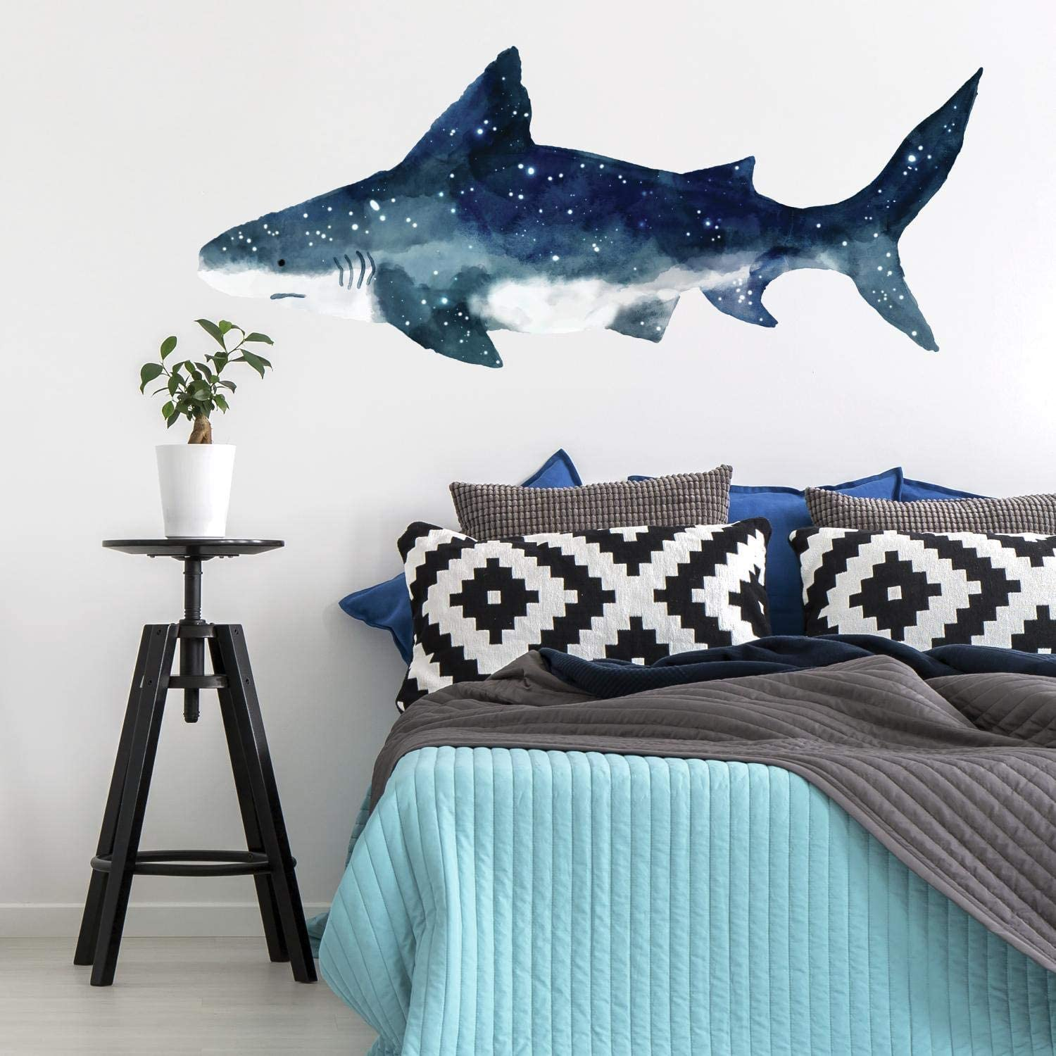 RoomMates Shark Peel And Stick Giant Wall Decals