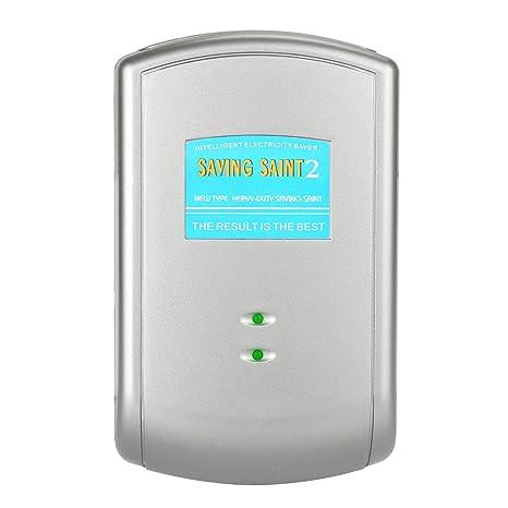 Enchufe europeo que ahorra de Santo el 30% del ahorro de la electricidad del ahorrador de energía de la familia: Amazon.es: Electrónica