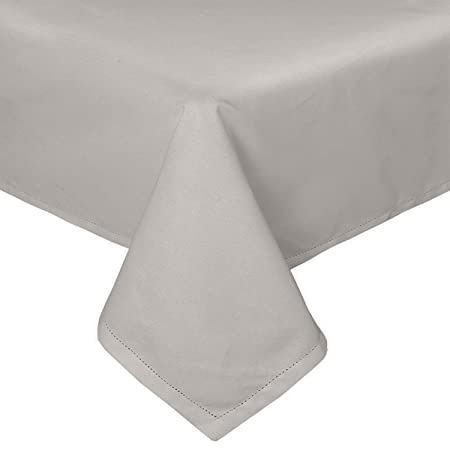 Round Tablecloth Damask  Luxurious Heavy Thick 71 180cm White or Silver