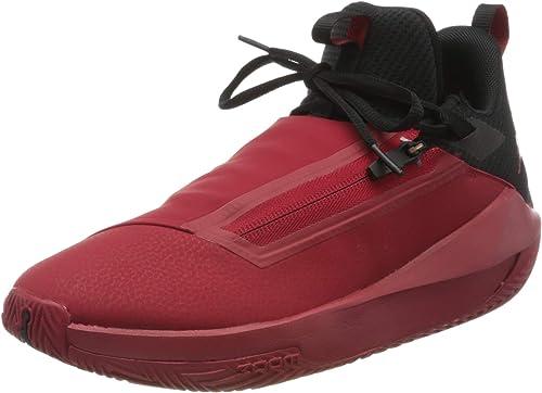 Nike Herren Jordan Jumpman Hustle Baseballschuhe, Rot (Gym RedBlack 601), 41 EU