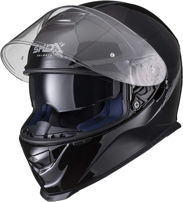 Shox Assault Evo Sector Motorcycle Helmet