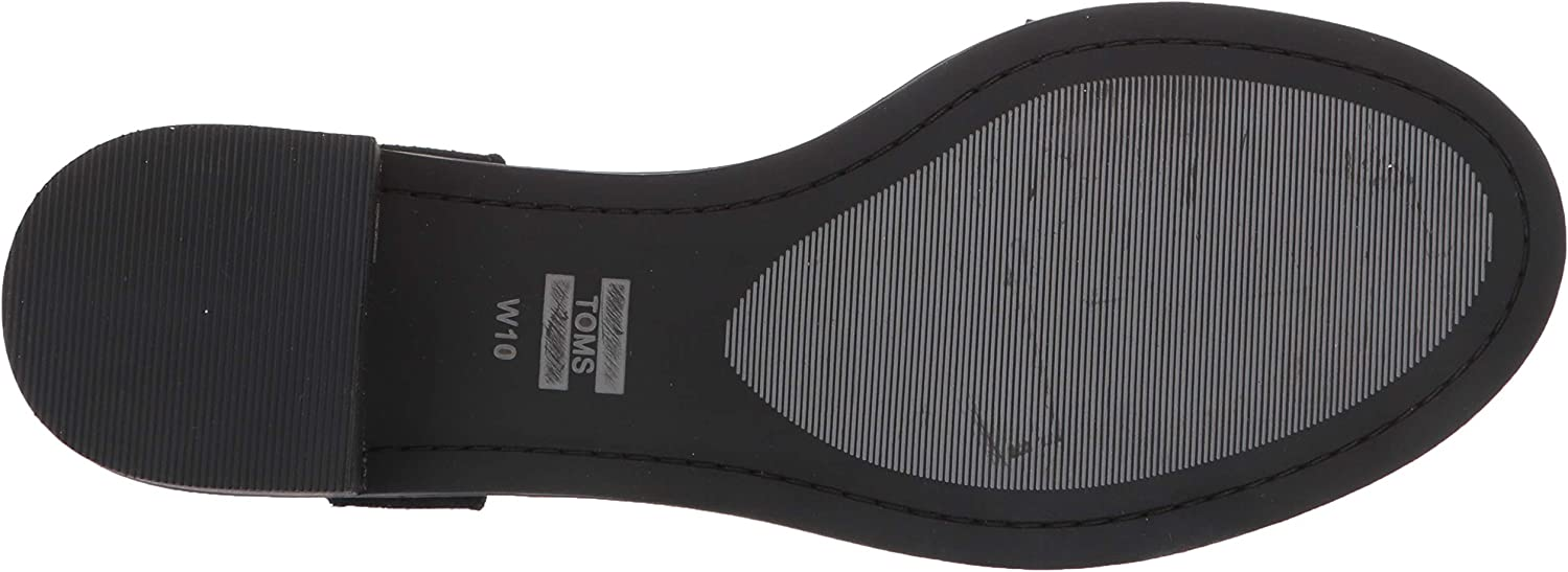 TOMS Women Camilia Black, Sandali da Arrampicata Donna Nero Black 000