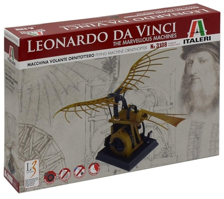 Italeri I3108 510003108 - IT L.Davinci Flying Machine (Ornithopter)