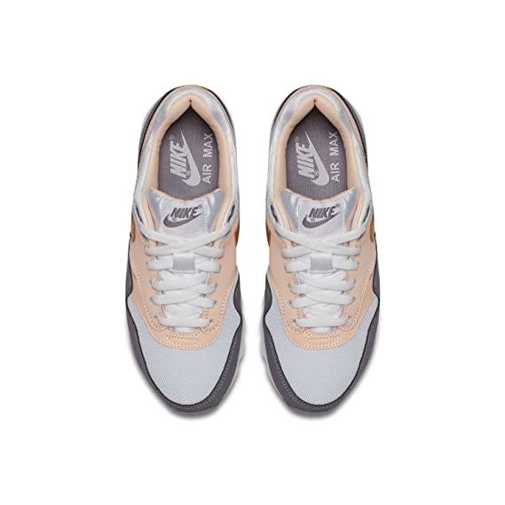 new style 683e3 7c05b Nike Basket Fille Air Max 1 GS 807605-104 BlancRose Amazon.fr Chaussures  et Sacs