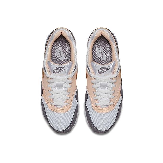 quality design 52a1e 98e44 Nike Basket Fille Air Max 1 GS 807605-104 Blanc Rose  Amazon.fr  Chaussures  et Sacs
