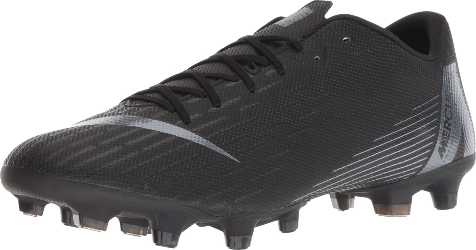 58c92a9dff3 Galleon - NIKE Mercurial Vapor 12 Academy MG Soccer Cleat (Black) (Men s  7.5 Women s 9)