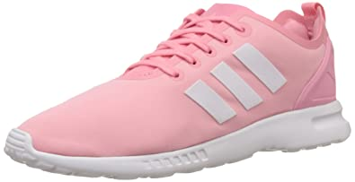 info for af058 1f478 adidas Damen ZX Flux Smooth Sneakers Pink (Super Pop F15Core WhiteCore