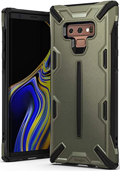 official photos 26df7 1ab55 Ringke Dual-X Compatible with Galaxy Note 9 Case Dual-Layer Reinforced  Heavy Duty Defense [Shock Absorption] Ergonomic Reassuring Grip Stylish  Armor ...