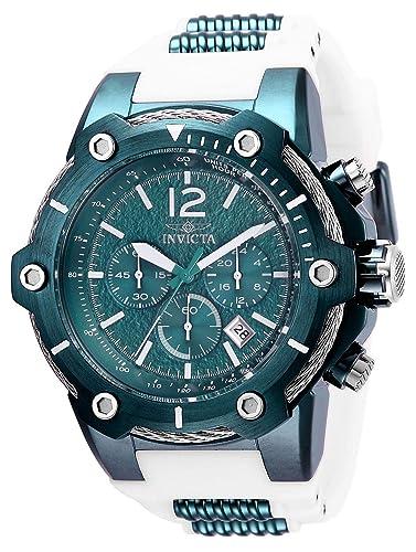 Invicta 28029 Bolt Reloj para Hombre acero inoxidable quarzo Esfera verde: Amazon.es: Relojes
