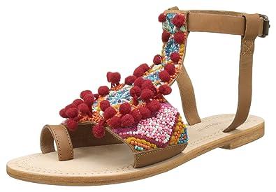 Antik Batik Damen Sunny Zehentrenner, Mehrfarbig (Multico ATD4), 40 EU