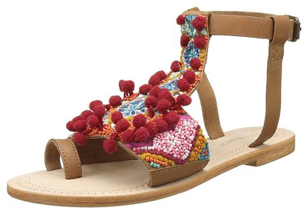 Saporta, Tongs Femme, Multicolore (Multico), 37 EUAntik Batik
