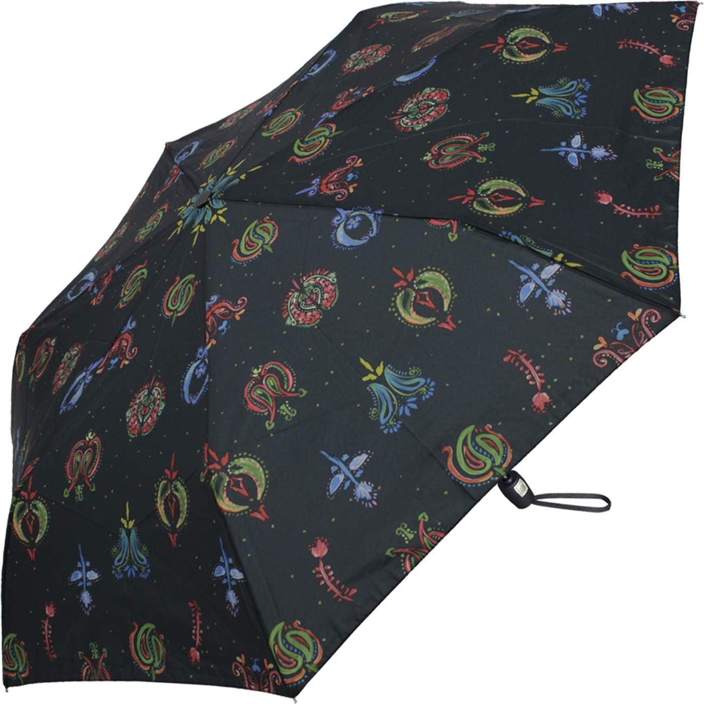 Pierre Cardin Parapluie pliants Femme Multicolore Fleurs 92 cm