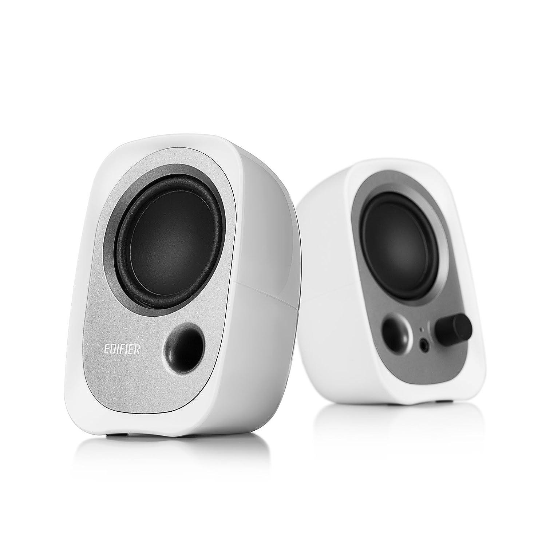 Edifier R12U Stereo Computer Bookshelf Speakers – White