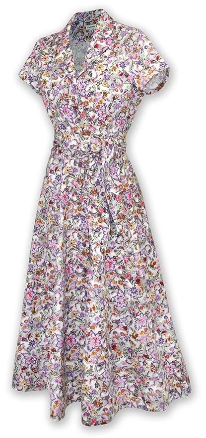 1940sStyleDressesandClothing Short-Sleeve 1947 Dress $204.70 AT vintagedancer.com