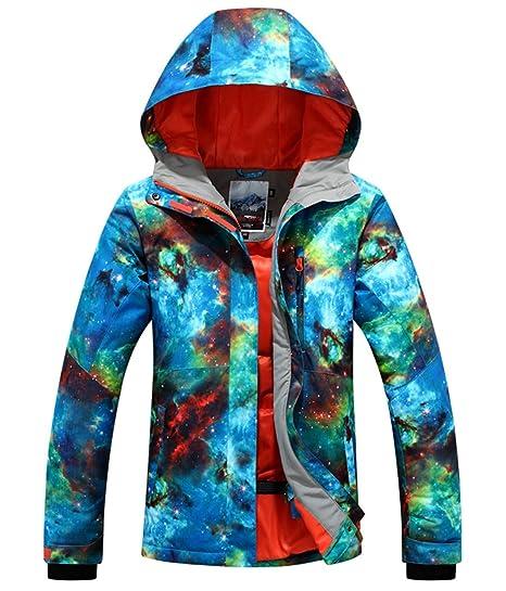 c131e3a002 APTRO Women s Ski Jacket Windproof Waterproof Snowboard Jacket  659 Size XS  Blue