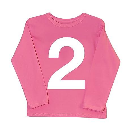 I Am 2 rosa T Shirt, inusual segundo cumpleaños regalo ...