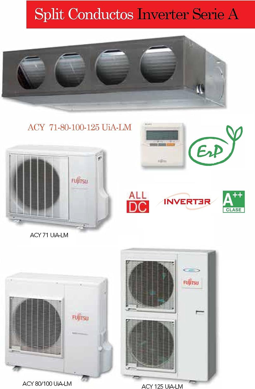 Equipo de aire acondicionado modelo 2013 con bomba frío/calor ...