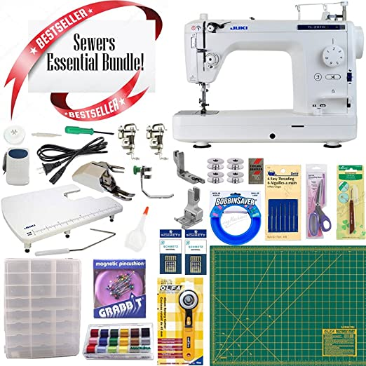 Juki TL2010Q máquina de coser y acolchar de brazo largo con ...