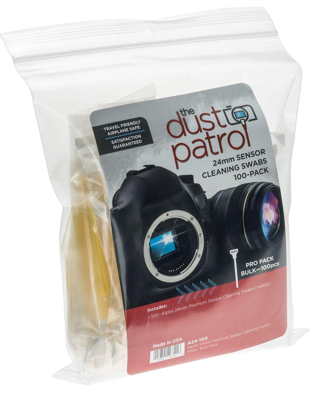 完売 Dust 24mm Patrol Alpha 24mm 6 Sensor B017TLRG5O Cleaning Kit 6 (100 Pieces) [JU2185] 24mm - Full Frame B017TLRG5O, ニット生地shop BOBBIN:05ecd0e2 --- a0267596.xsph.ru