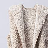Womens Coats And Jackets Liraly Fashion Vest Winter Warm Hoodie Outwear Casual Coat Faux Fur Zip Up Sherpa Jacket