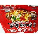 激安挑戰中華インスタントラーメン 光友紅油面皮 酸辣味 中国物産食品 大人気  方便面皮 400g 4食 100g*4