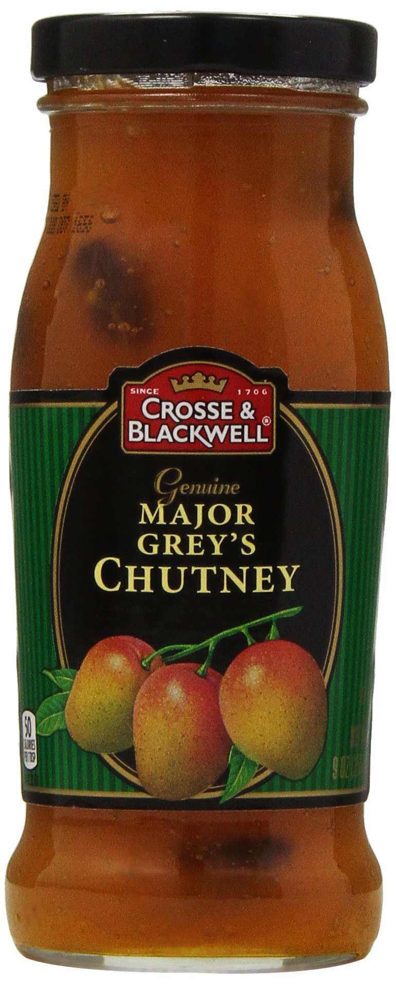 Crosse & Blackwell Genuine Major Grey's Chutney, 9 oz