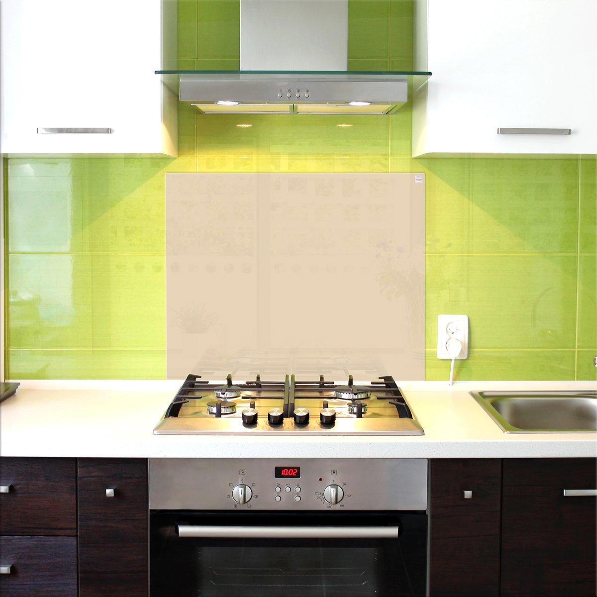 Pannello in vetro di protezione per cucina / Anti-schizzo ...
