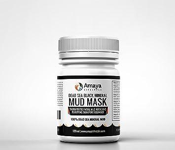 Dead Sea Black Mineral Mud Mask, by Amaya