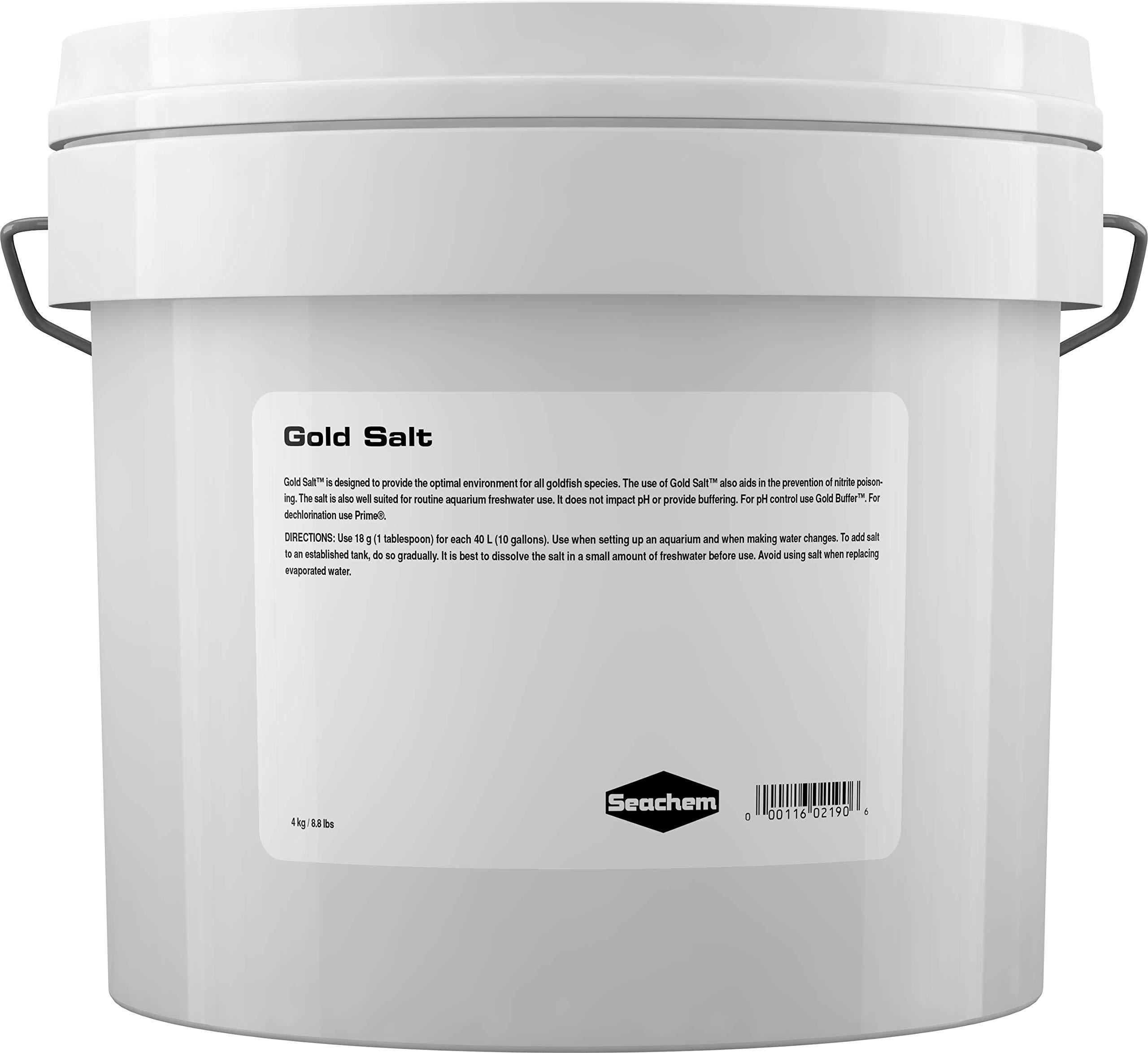 Gold Salt, 4 kg / 8.8 lbs by Seachem