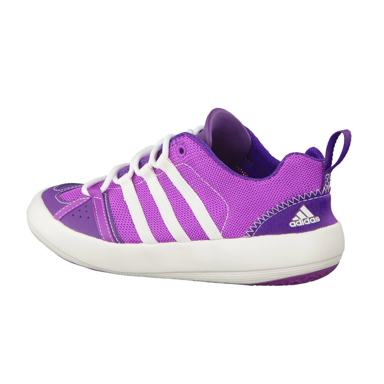 adidas BOAT LACE K Kinder Wasser Freizeit Multifunktionsschuhe, ultra purplepower purplechalk