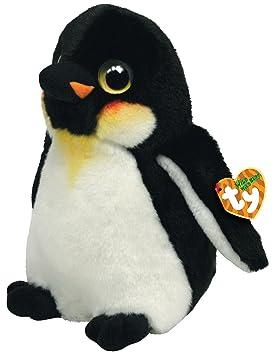 Ty 7175008 Wild Wild Best - Pingüino de peluche Icicles, 33 cm [Importado de Alemania]: Amazon.es: Juguetes y juegos