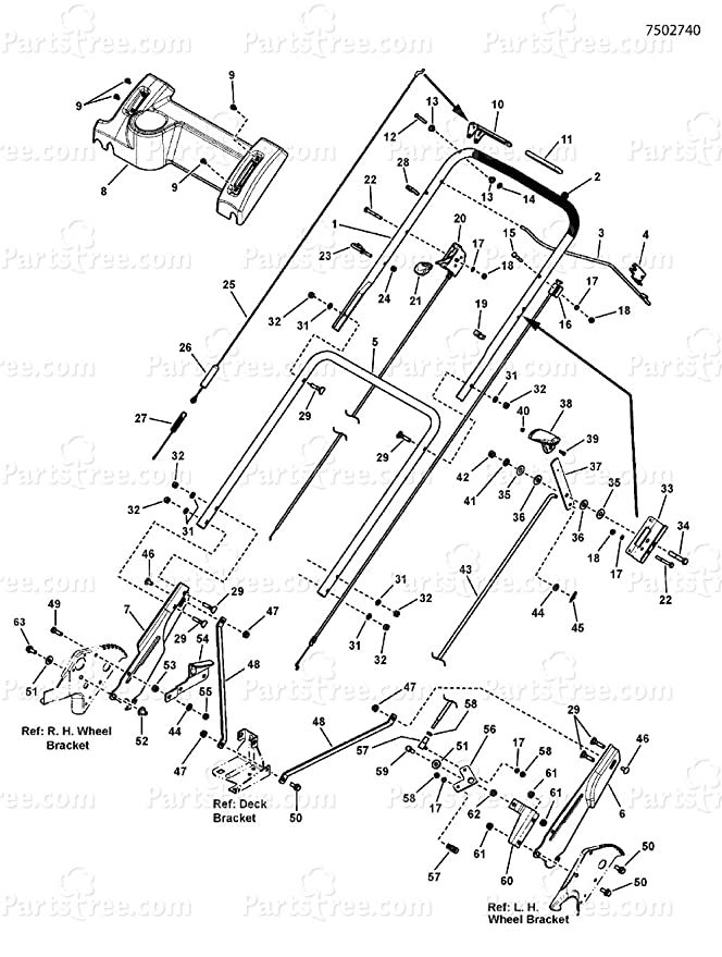 Amazon Com Saidico Direct Commercial Snapper Clutch Control Cable