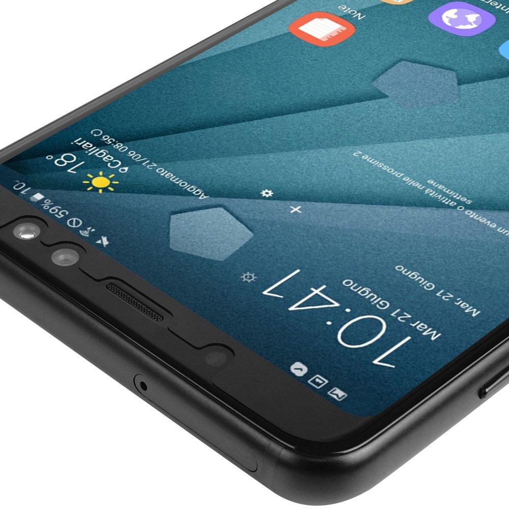 Amazon.com: Samsung Galaxy A8 Screen Protector (2018), Skinomi ...