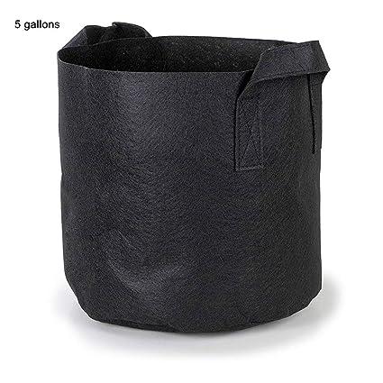 Amazon.com: dezirZJjx - Bolsas para macetas de cultivo (5 ...