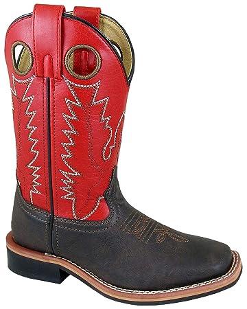 6e993a3525e Amazon.com: Smoky Mountain Boys' Blaze Western Boot Square Toe: Shoes