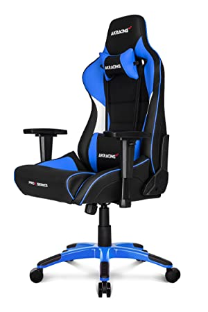 AKRACING Prox Gaming - Silla (Cuero PU, Metal) Negro/Blanco: Amazon.es: Hogar