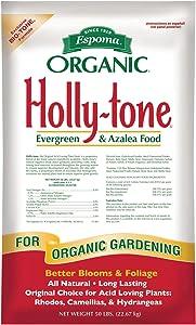 Espoma 50 lbs. Organic Holly Tone Evergreen & Azalea Food (Multicolor)