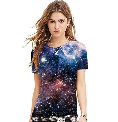 Camisetas Manga Corta Mujer Camisas de Hombre Manga Corta Camisa Estampadas Camisetas de Chica Top Señora Camisetas Personalizadas Divertidas Chulas ...