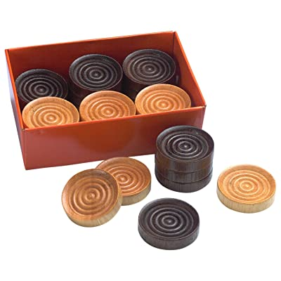 Drueke 831.24 Wood Checkers: Sports & Outdoors