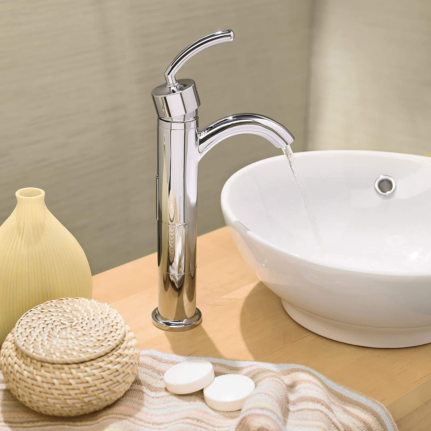 MOEN A1717BN Icon Collection Vessel Faucet Extension Kit 1 Brushed Nickel