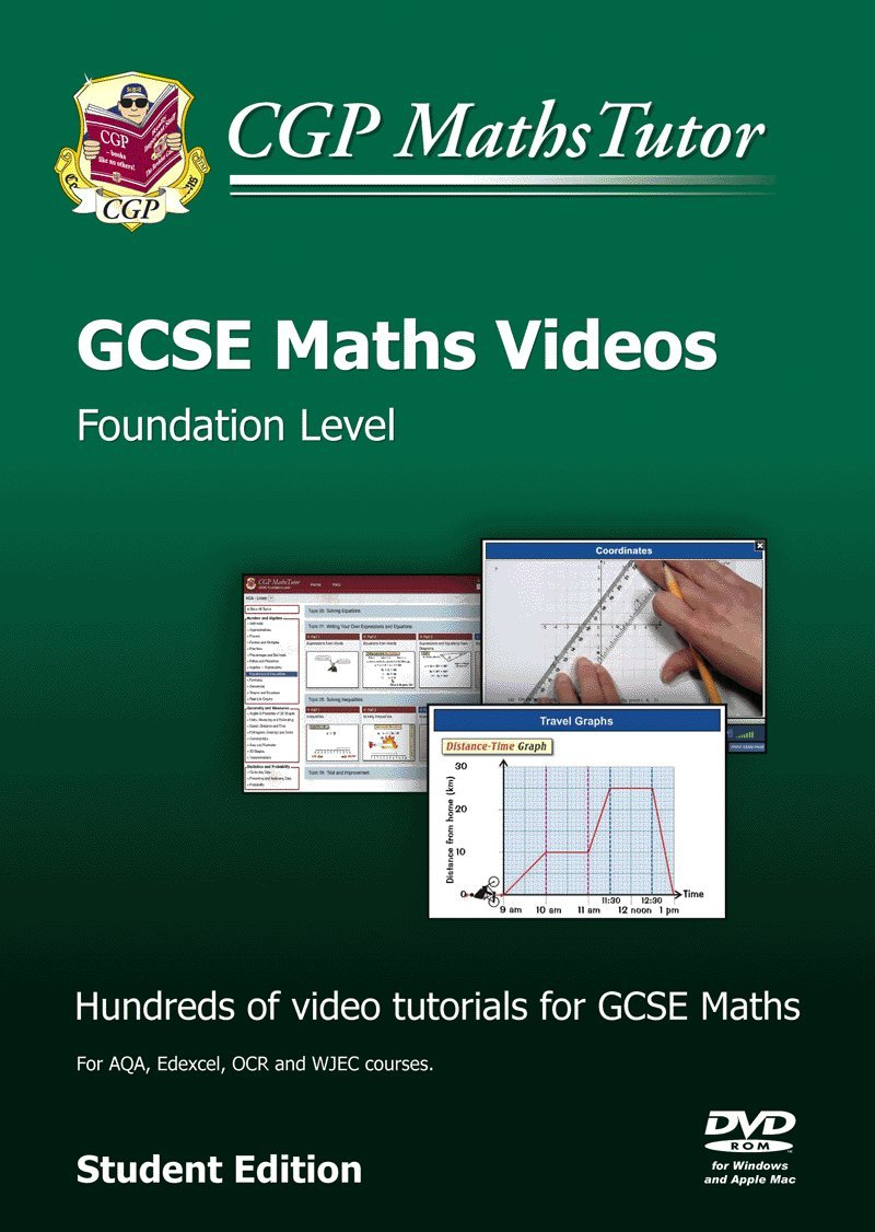 MathsTutor: GCSE Maths Tutorials, Foundation Level - DVD-ROM for PC ...
