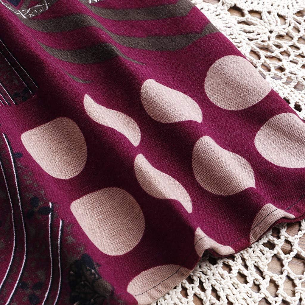 Xmiral T Shirt Camicetta Donna a Maniche Lunghe Nazionale Stile Casual